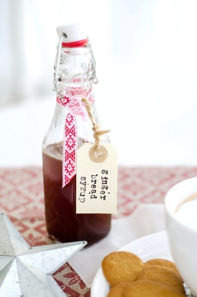 Gingerbread Syrup for Gingerbread Latte (Pepparkakssirap )