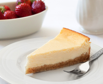 Seriously Good Baked Cheesecake Recipe