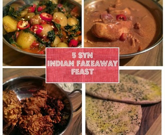 Recipe:- 5 Syn Indian Fakeaway Feast!
