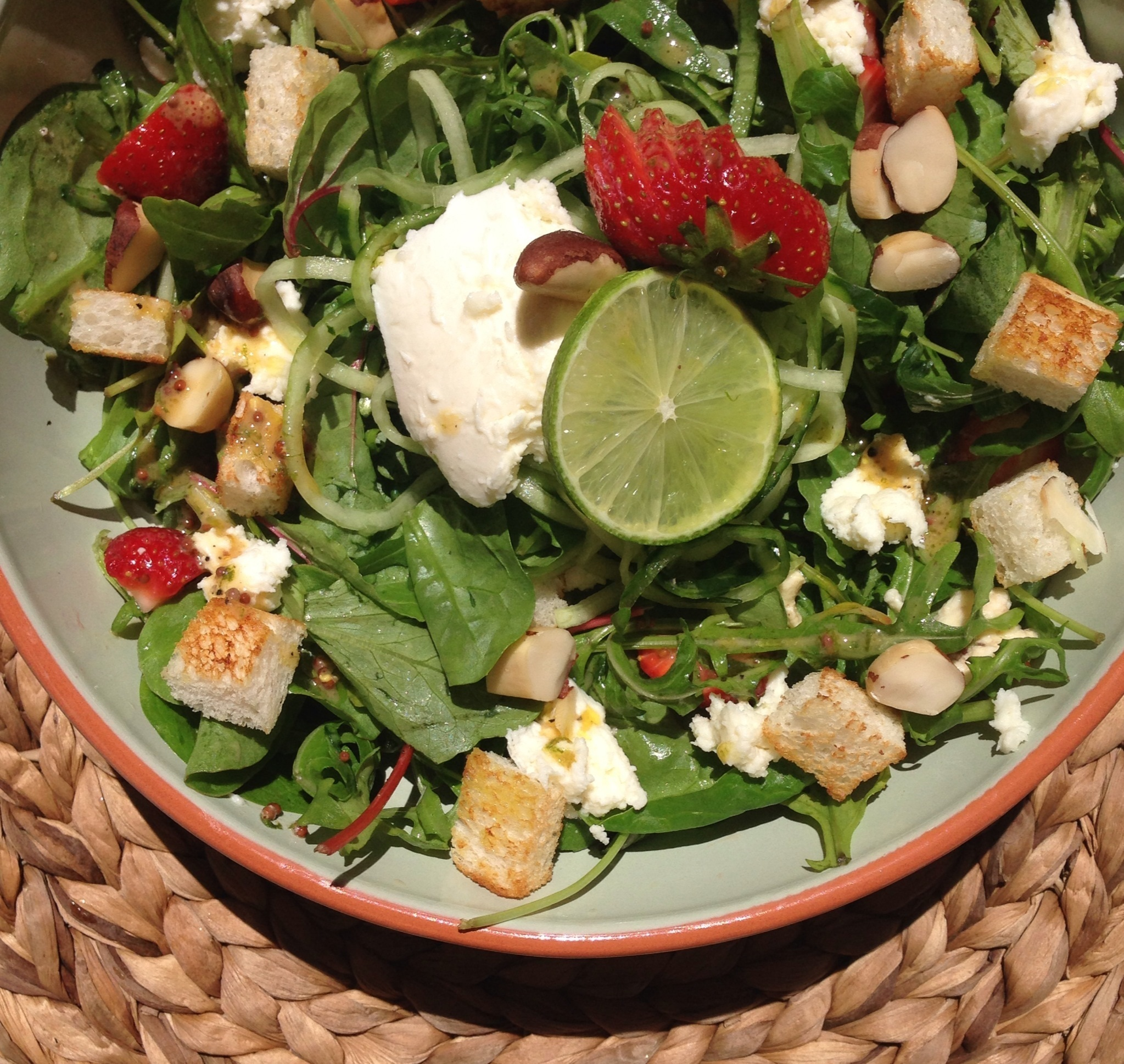 Zomerse lunch salade