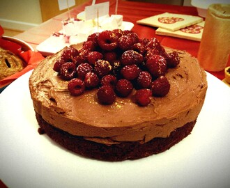 Chocolate Mousse Cake (GF)