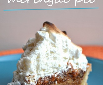 Carrot Cake Meringue Pie