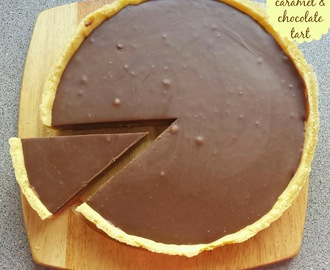 Recipe - Salted caramel & chocolate tart (#GreatBloggersBakeOff2014)