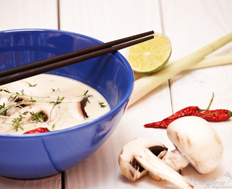{Asia} Coconut Lime Soup