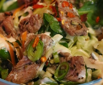 LAMB KEBAB SALAD SUPER HEALTHY