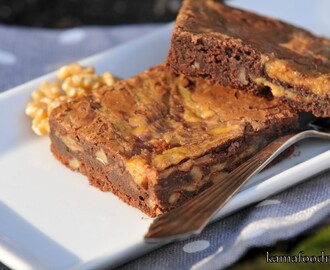 Quick and dirty: Dulce de Leche Brownies