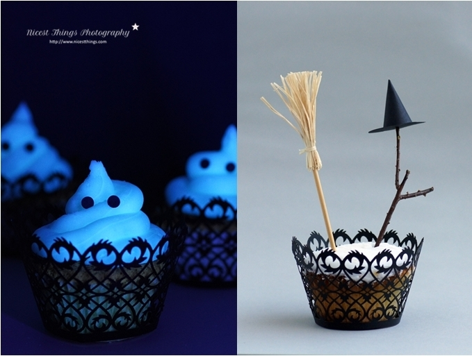 DIY: Halloween Special 3 - Glowing Cupcakes