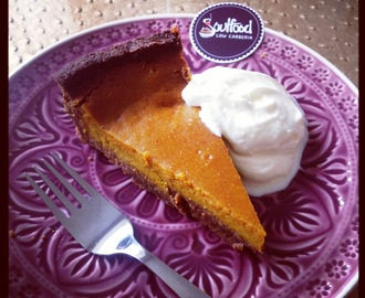 LowCarb Pumpkin Pie