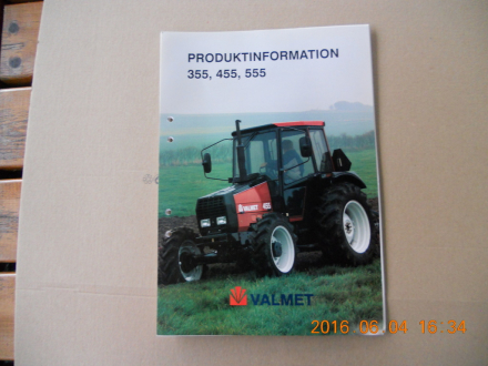 Produktinformation Valmet 355-455-555.