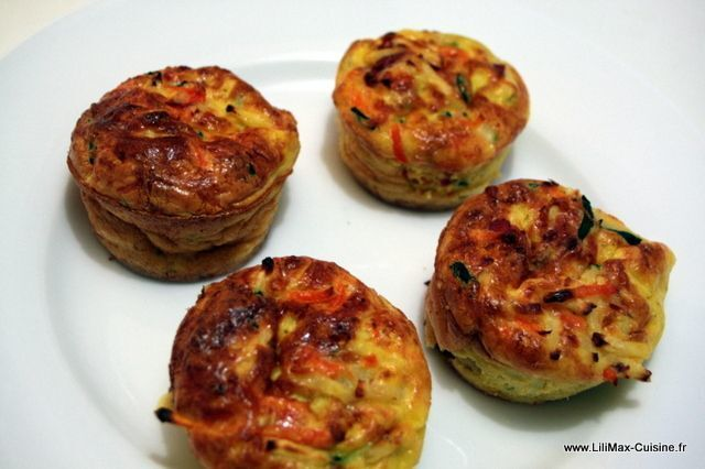 Mini flans de legumes Weight Watchers (3PP)