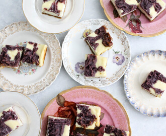 Ube Cheesecake Bars