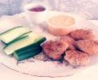 LCHF chicken nuggets