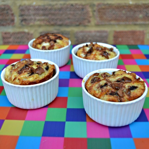 Pain au Chocolat Bread and Butter Pudding Recipe #NewThings