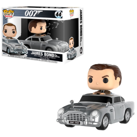 POP Figur James Bond Aston Martin & Sean Connery