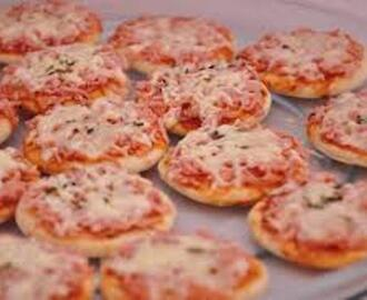 Mini Pizza Cremosa