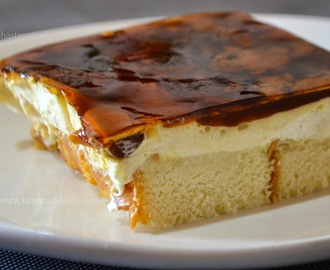 No- bake Caramel cheese cake