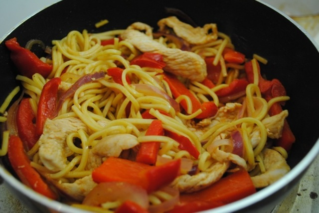 Chinese chicken stir fry recipe