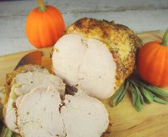 Brined Oven Roasted Turkey Breast