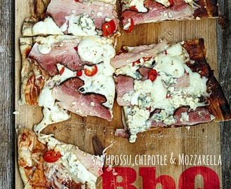 BbQ: Grillipizza