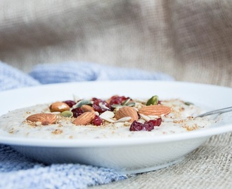 Recept / Winter havermout power bowl
