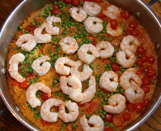 COCONUT CURRY SHRIMPS AND COUSCOUS
