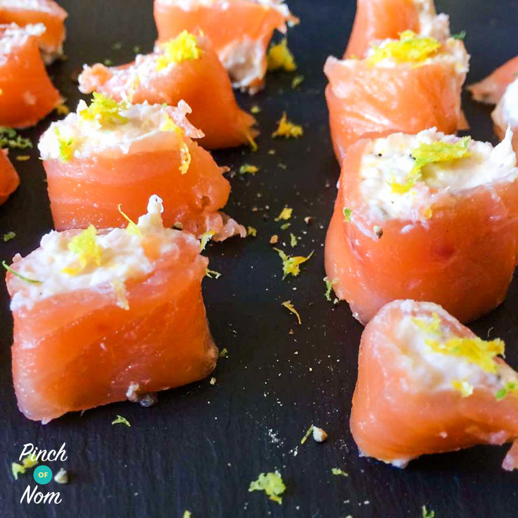 Syn Free Smoked Salmon Canapés | Slimming World