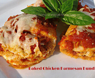 Baked Chicken Parmesan Bundles