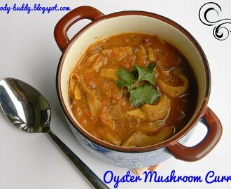 Sippy Kaalan Kurma / Oyster Mushroom Curry - Mushroom Recipes