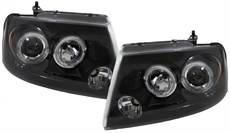 Angel Eyes Svart Ford F150, 04-08
