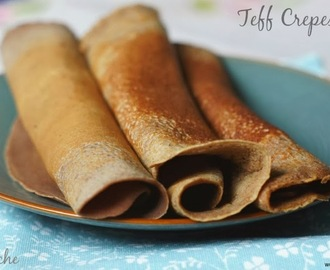 Teff Crepes # World Diabetes Day