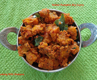 YELLOW PUMPKIN DRY CURRY