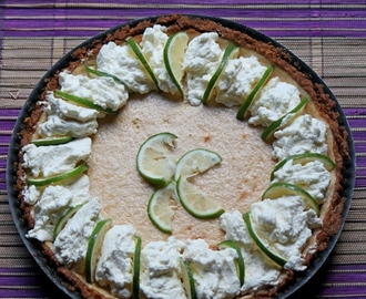Key lime pie au dulce de leche