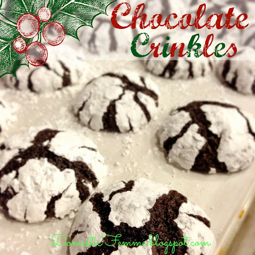 Cookie Perfection: Chocolate Crinkles