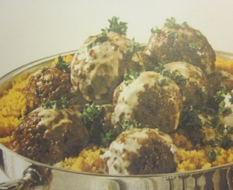 MEAT BALLS WITH FRENCH CREAM