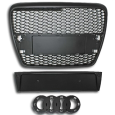 RS Look grill Audi A6, Audi A6 4F 04-08