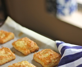 Buttermilk and cheddar biscuits