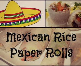 Mexican Rice Paper Rolls