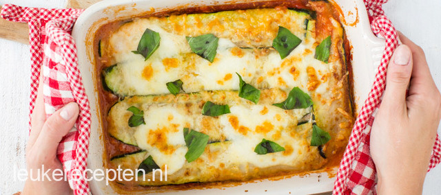 Video: courgette lasagne
