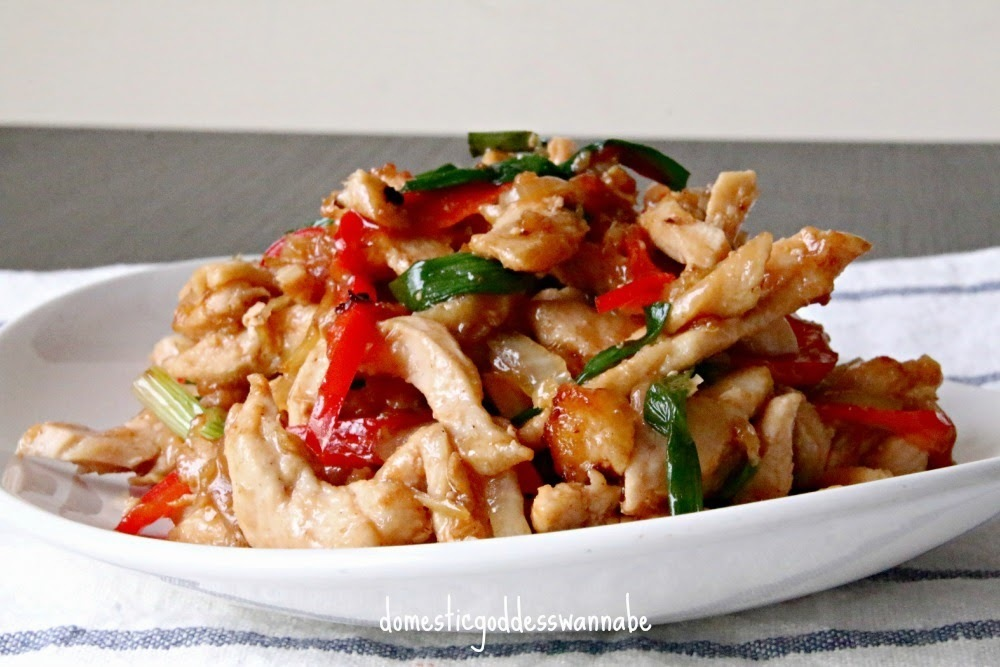 thai ginger chicken stir-fry | gai pad khing