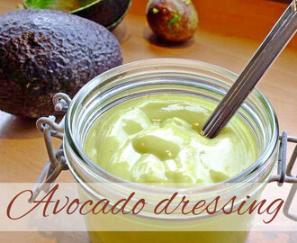 Avocado dressing