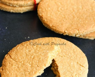 Homemade Digestive Bicuits/Graham crackers