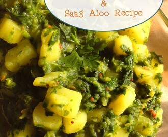 Your (Healthy) Indian 'Takeaway' Meal Plan & Saag Aloo Recipe
