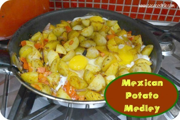 Mexican Potato Medley – Foodie Friday
