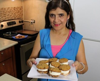 Curso en video #8 repostería básica | Galletas de avena y sandwiches helados