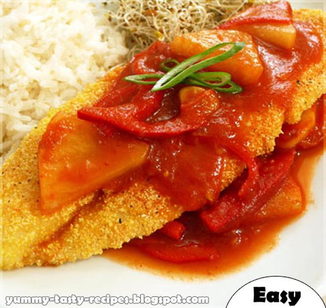 Fillet Fish With Tomato Sauce Recipe