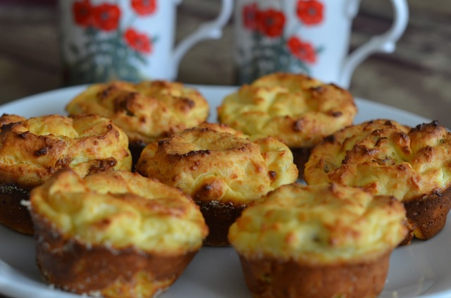 Farmers Cheese Muffins