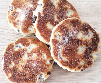 Welsh Cakes with a Sew White Twist