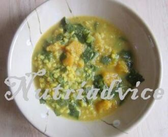 Spinach and Butternut Squash Curry
