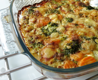 Kermainen Kasvisgratiini - Creamy Vegetable Gratin