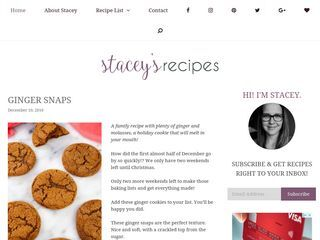 Stacey's Recipes